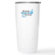 BDS Dual Logo Stainless Steel Travel Mug