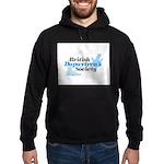 BDS Dual Logo Hoodie (dark)