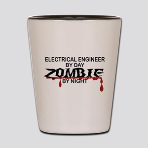 Electrical Engineer Zombie Shot Glass