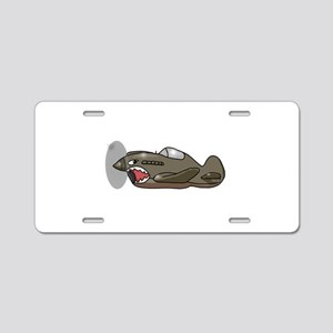Flying Tiger Aluminum License Plate