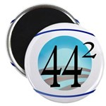 44 squared. Obama is President. Magnet