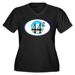 44 squared. Obama is President. Women's Plus Size