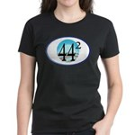 44 squared. Obama is President. Women's Dark T-Shi