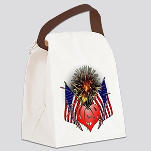 Celebrate America 3 Canvas Lunch Bag
