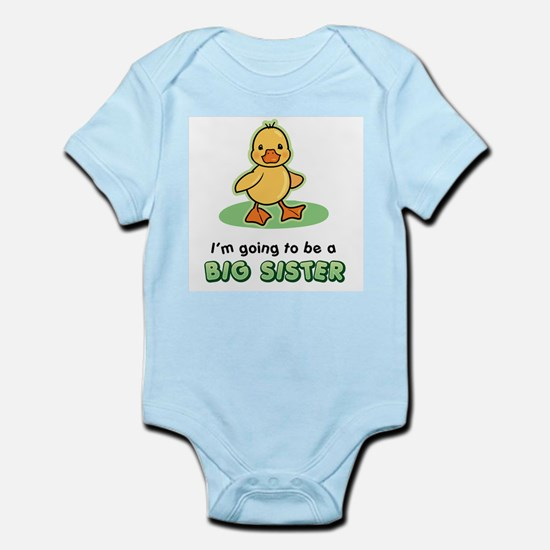 Big Sister to be - Duck Body Suit