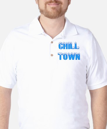 Chill Town Golf Shirt