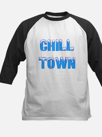 Chill Town Kids Baseball Jersey