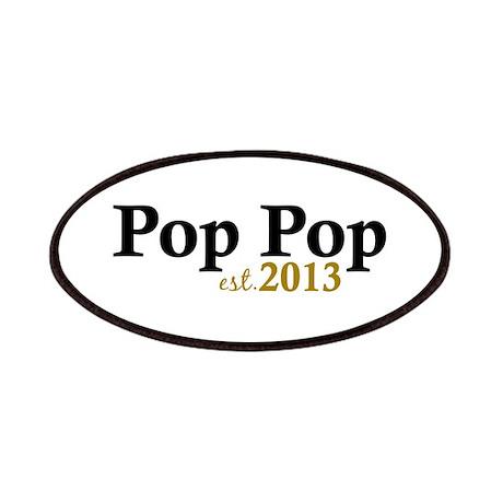 Pop Pop Est 2013 Patches
