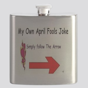 April Fools Joke Flask