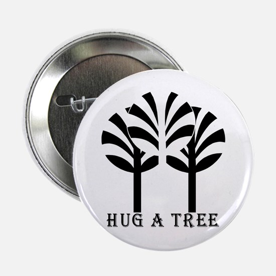 HUG A TREE Button