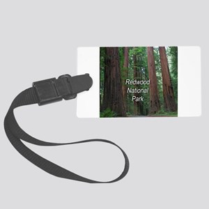 Redwood National Park Large Luggage Tag