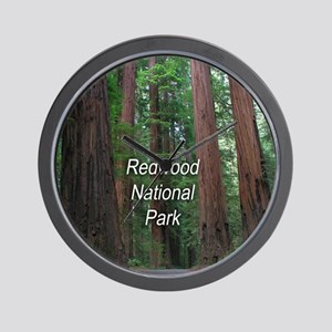 Redwood National Park Wall Clock