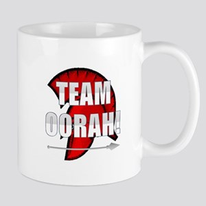 Team Oorah white logo Mug