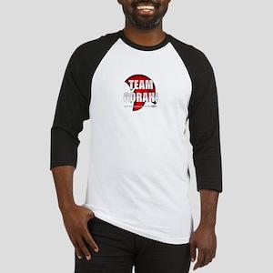 Team Oorah white logo Baseball Jersey