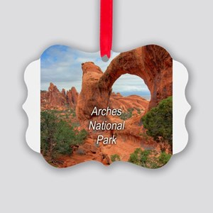 Arches National Park Picture Ornament