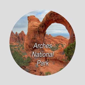 Arches National Park Ornament (Round)