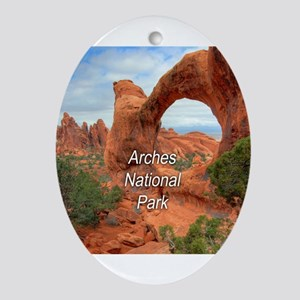 Arches National Park Ornament (Oval)