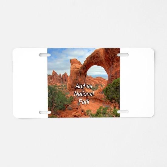 Arches National Park Aluminum License Plate