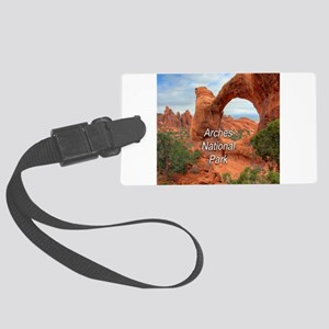 Arches National Park Large Luggage Tag