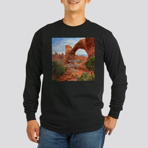 Arches National Park Long Sleeve Dark T-Shirt