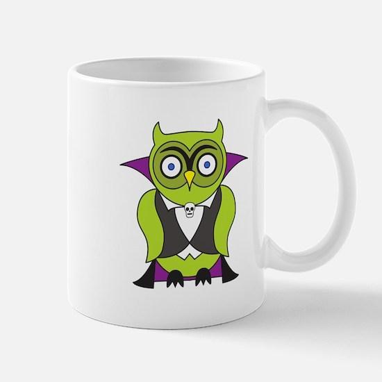 Halloween Vampire Owl Mug