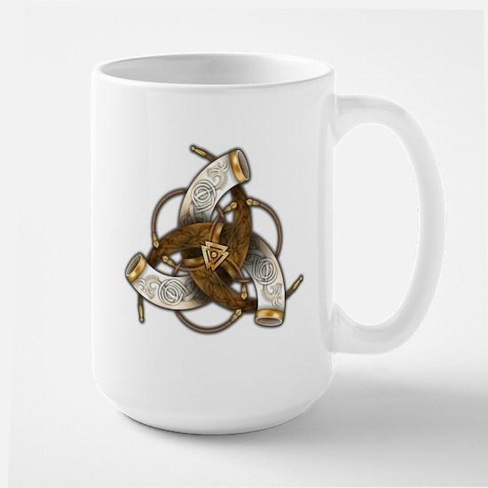 Odin's Triple Horns Large Mug