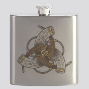 Odin's Triple Horns Flask