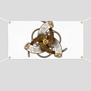 Odin's Triple Horns Banner