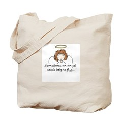 Special Angel Tote Bag