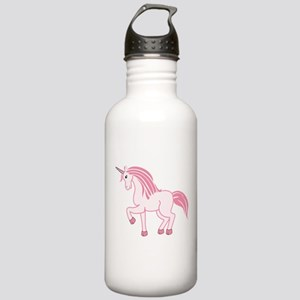 Pink Unicorn Stainless Water Bottle 1.0L