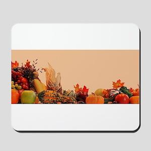 Cornucopia For Thanksgiving Mousepad