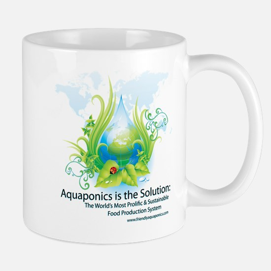 Friendly Aquaponics Earth Drop Solution Mug
