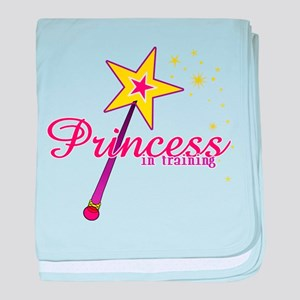 Princess in Training baby blanket