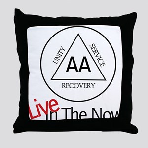 Live In The Now Throw Pillow