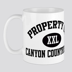 Property of CANYON COUNTRY Mug