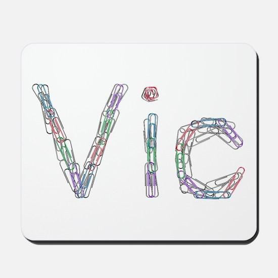 Vic Paper Clips Mousepad