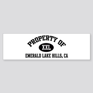 Property of EMERALD LAKE HILL Bumper Sticker