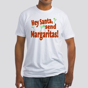 Send Margaritas Fitted T-Shirt