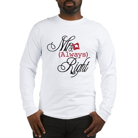 Mrs. Always Right Long Sleeve T-Shirt