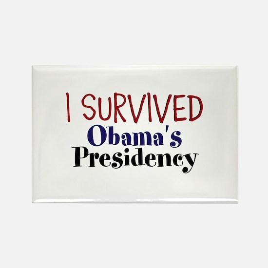 I Survived Obamas Presidency Rectangle Magnet (100