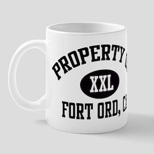 Property of FORT ORD Mug