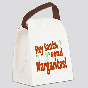 Send Margaritas Canvas Lunch Bag