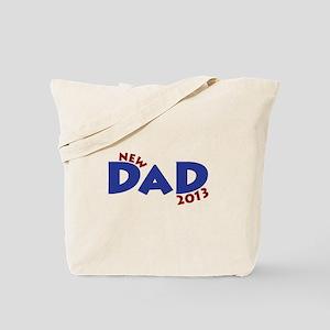 New Dad Est 2013 Tote Bag
