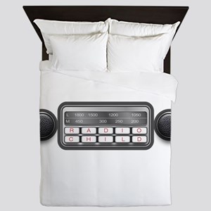 Radio Child Queen Duvet
