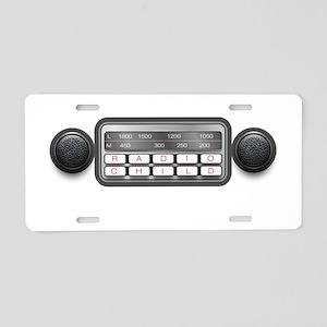 Radio Child Aluminum License Plate