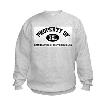 Property of GRAND CANYON OF T Kids Sweatshirt