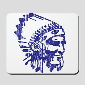 Blue Indian Vintage Mousepad