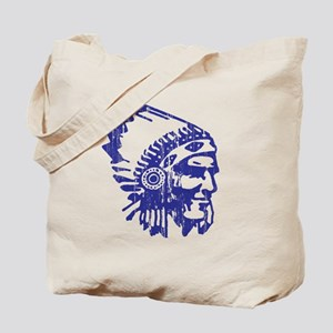 Blue Indian Vintage Tote Bag