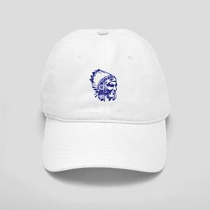 Blue Indian Vintage Cap