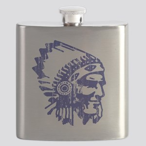 Blue Indian Vintage Flask